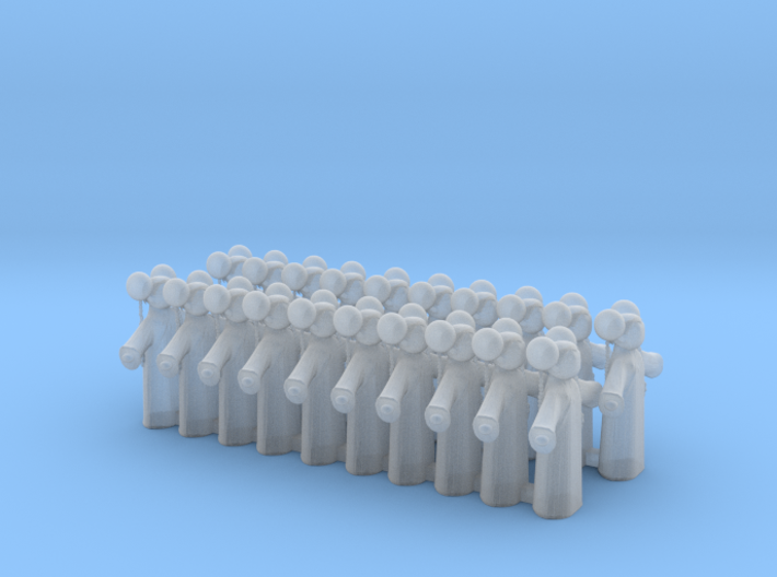 Doll Tokens 3d printed