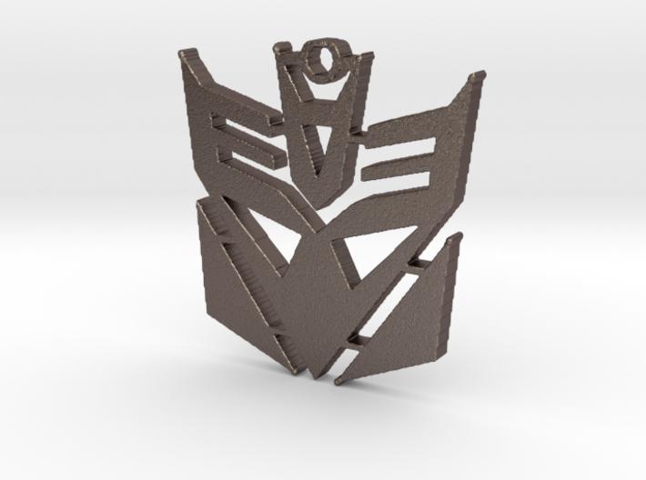 Decepticon Logo Pendant 3d printed