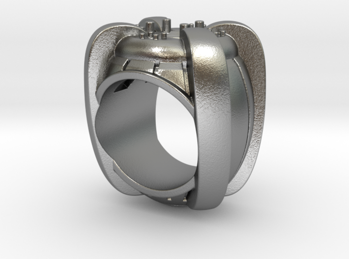 Ring of Truth -  Gem  - Size 12 (21.49 mm) 3d printed