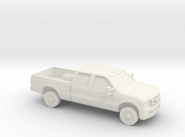 1/87 2005 Ford F 350 Crew Cab 3d printed