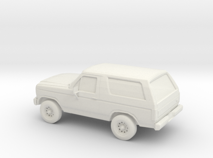1/87 1984 Ford Bronco 3d printed