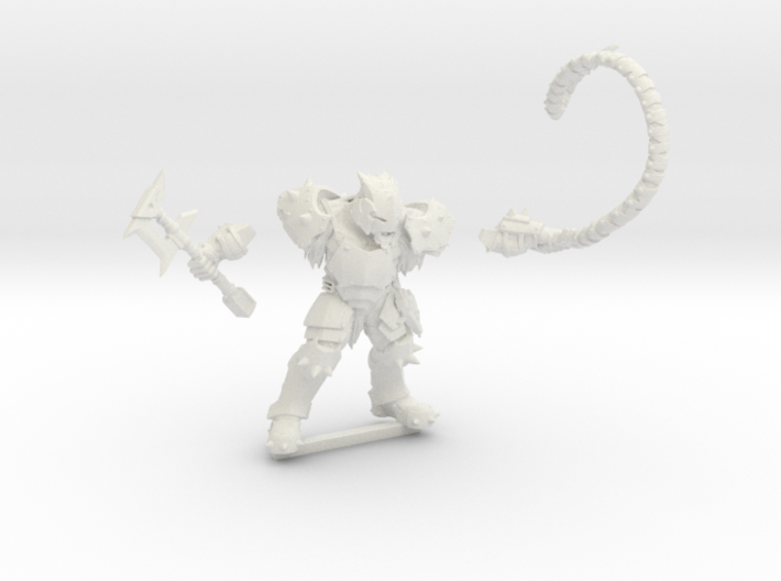 Kelk Beastmaster 3d printed Acceptable for playing but not for painting.