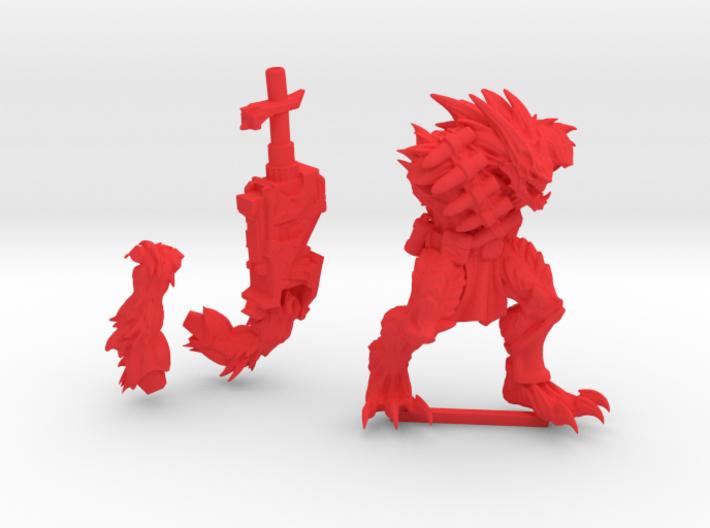 Kurgan with Cannon 3d printed