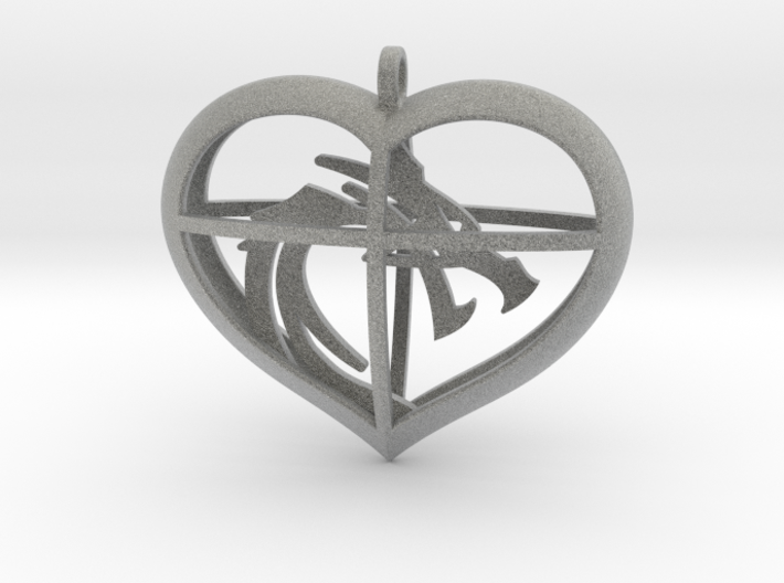 Dragon Heart 3d printed