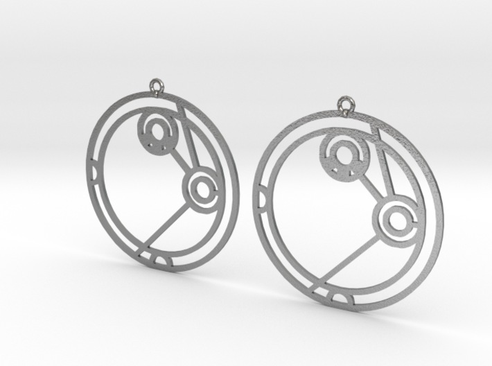 Amelia - Earrings - Series 1 3d printed