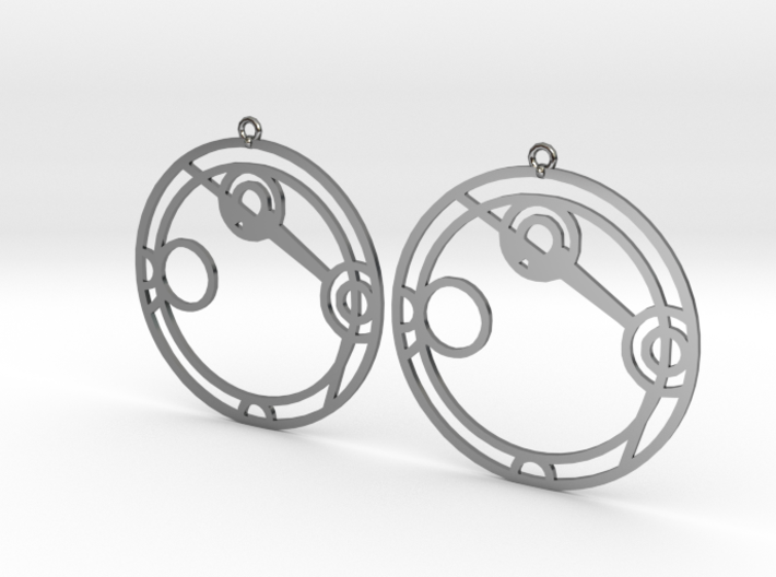 Angelina - Earrings - Series 1 3d printed