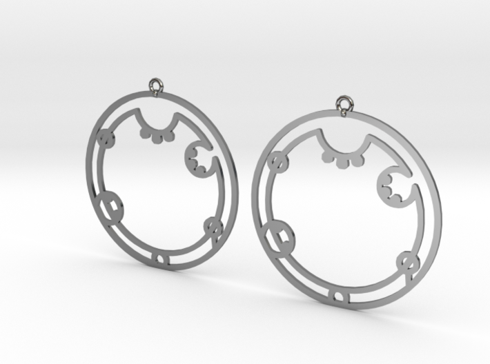 Audrey - Earrings - Series 1 3d printed