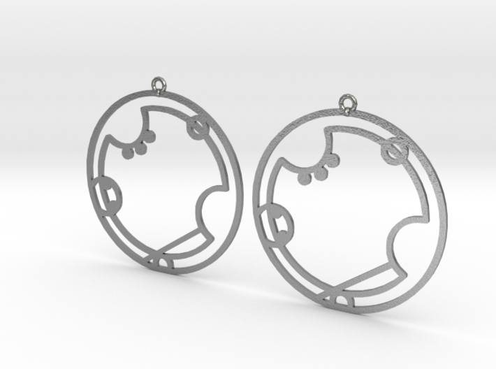 Avery - Earrings - Series 1 3d printed