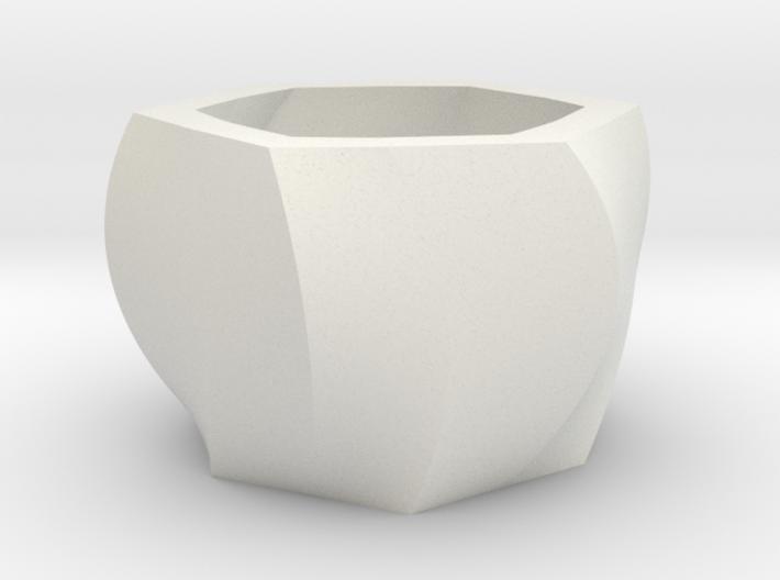 Hexapot Planter 3d printed