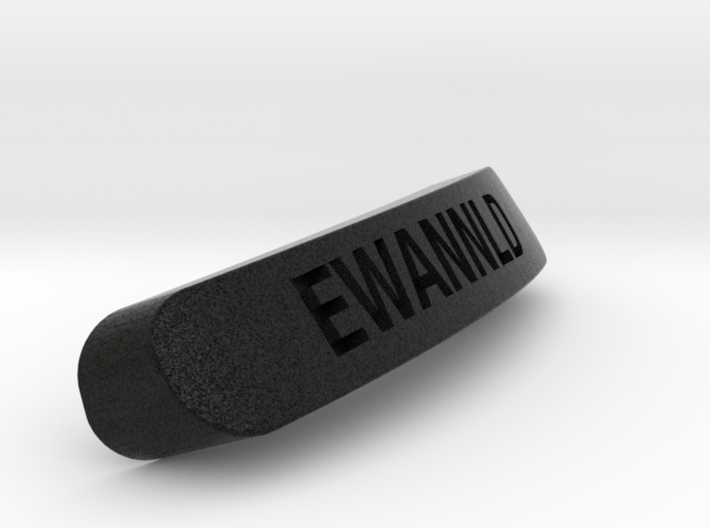 EWANNLD Nameplate for SteelSeries Rival 3d printed