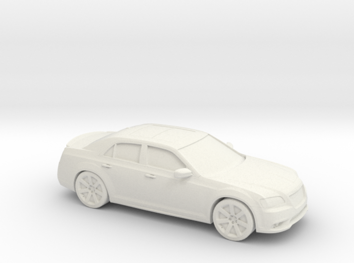 1/87 2011 Chrysler 300 SRT8 3d printed