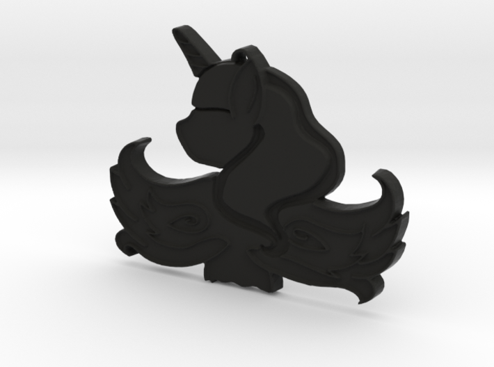 Luna Pendant 3d printed