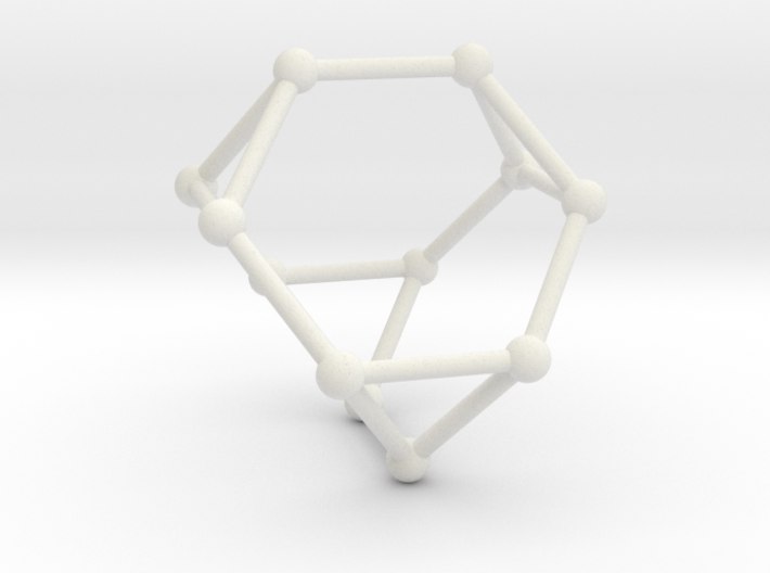 Truncated Tetrahedron 3d printed