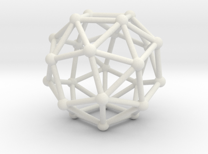 Snub Cube (left-handed) 3d printed