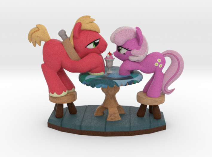 2015 Special Edition - Hearts & Hooves Day 3d printed