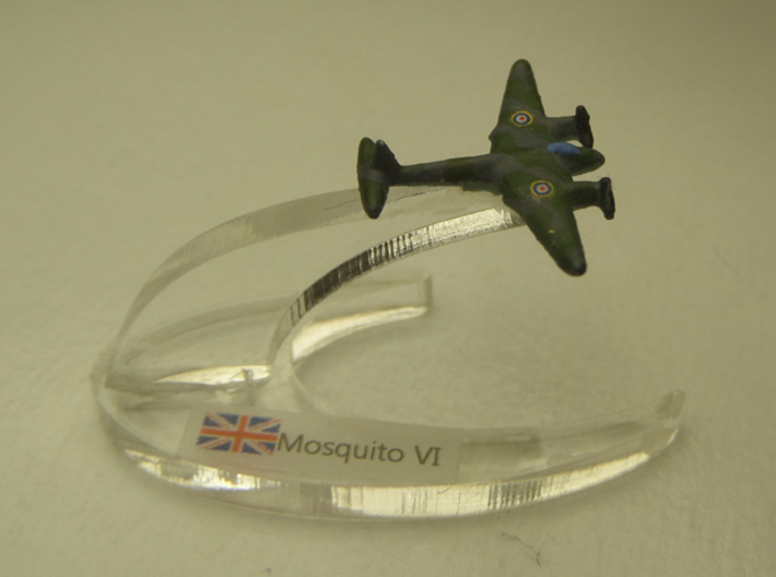 Mosquito FB Mk VI 1:900 3d printed Comes unpainted. Set of 4 planes without stands.