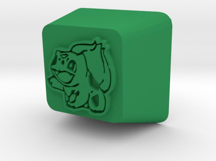 Bulbasaur Cherry MX R4 Keycap 3d printed