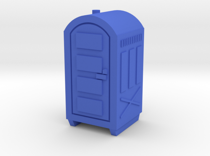 N Scale Portable Toilet 3d printed