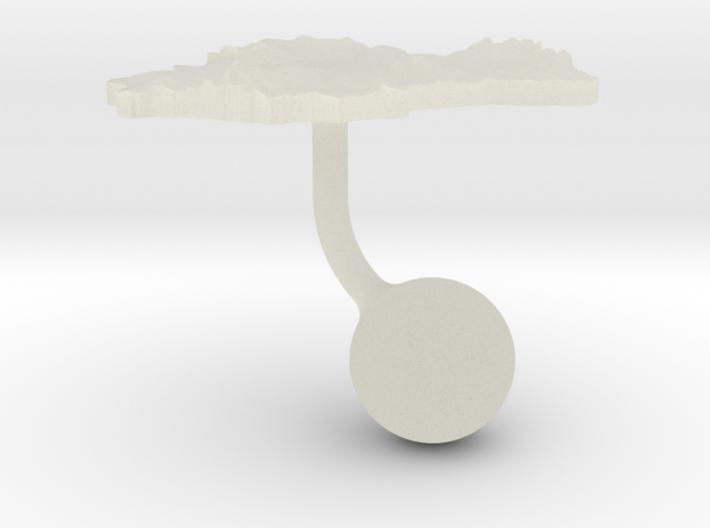 Spain Terrain Cufflink - Ball 3d printed