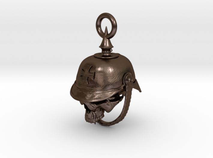 WWI German Infantry Skull Biker Bell 3d printed