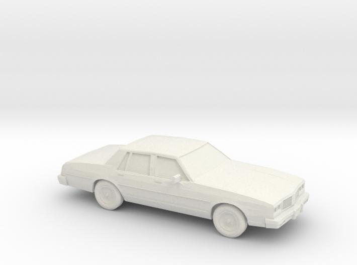1/87 1985 Oldsmobile Delta 88 3d printed