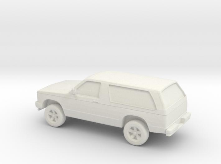 1/87 1984 Chevrolet Blazer S10 3d printed