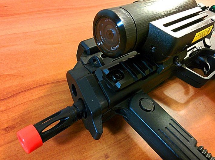 Contour Picatinny Mount Adapter 3d printed