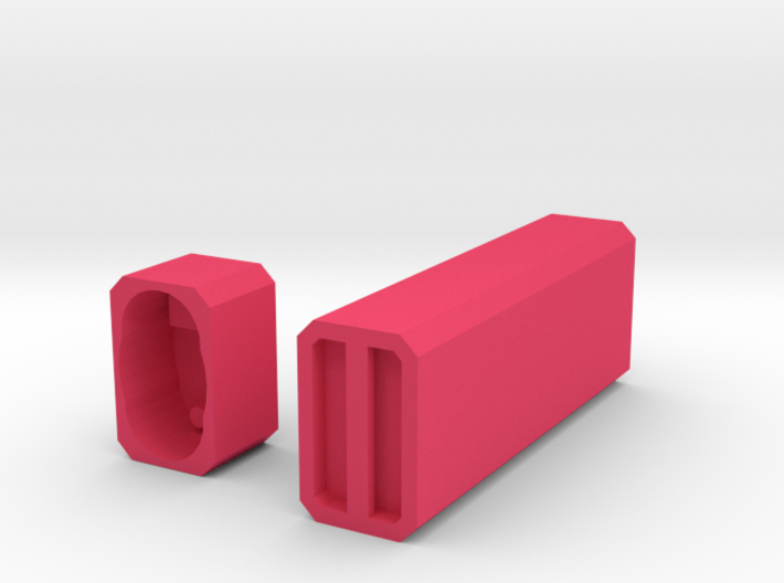 Engraveable Bic Case 3d printed