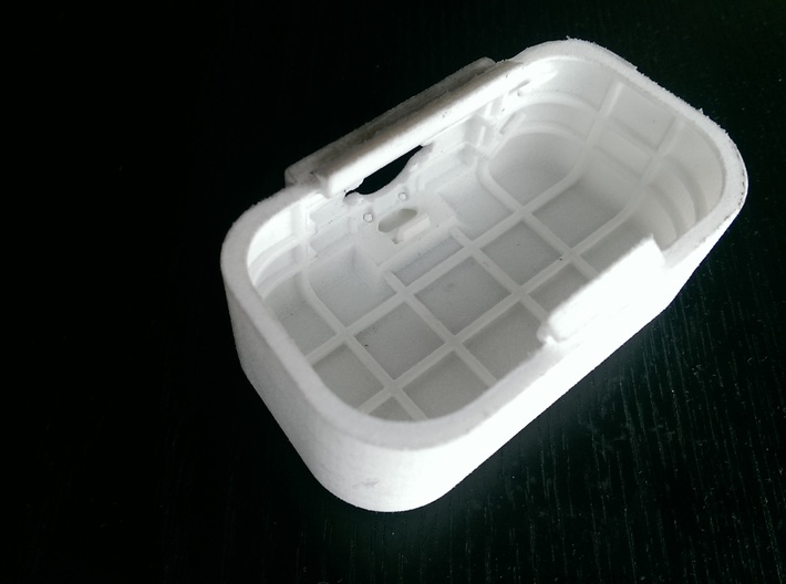 "DJI Phantom 1.5 Battery door  ""theONE""  BIG 3d printed"