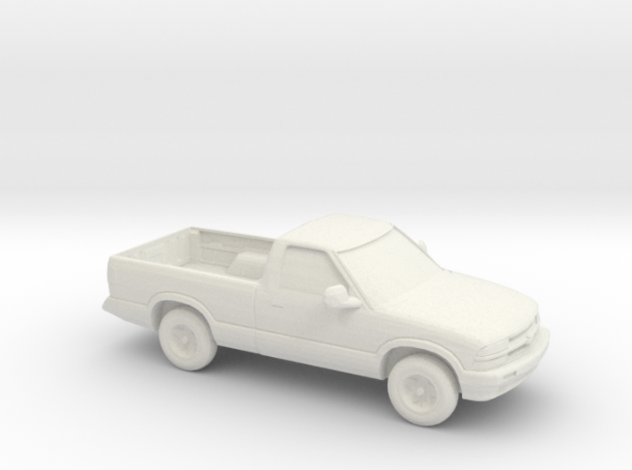 1/87 2000 Chevrolet S10 3d printed