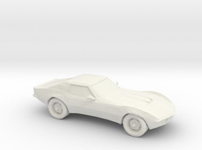 1/87 1969 Corvette C3 Stingray 3d printed