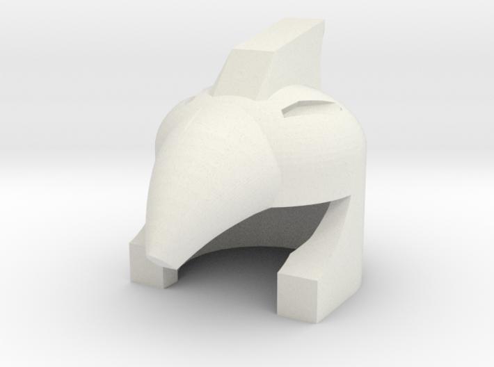 Robohelmet: Beakbrim 3d printed