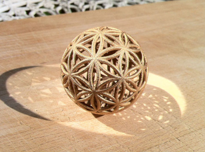 3D 200mm Orb of life (3D Flower of Life)  3d printed