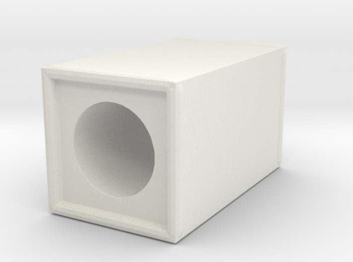 Thin Block 1 3d printed