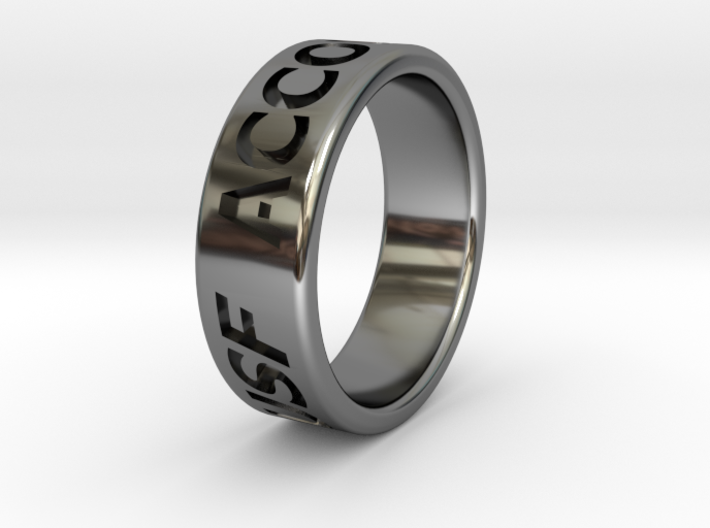 USF Ring 2014 Silver 3d printed