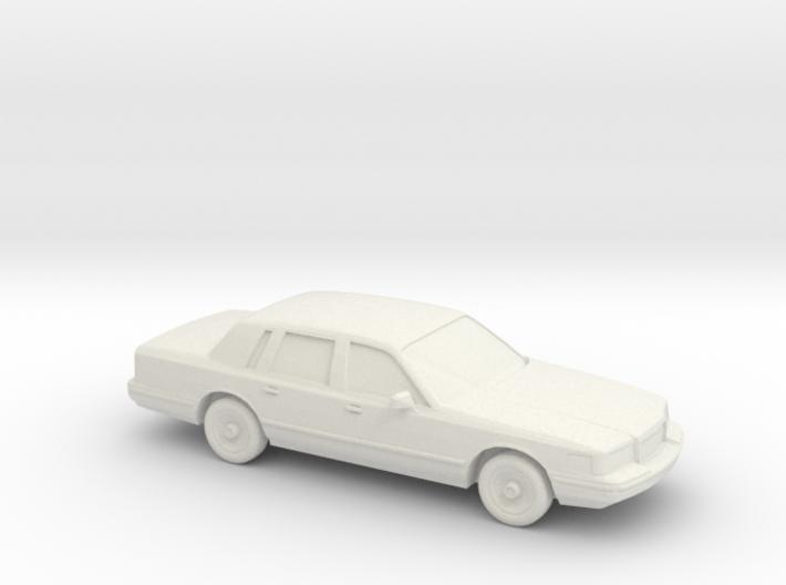1/87 1996 Lincoln Town Car 3d printed