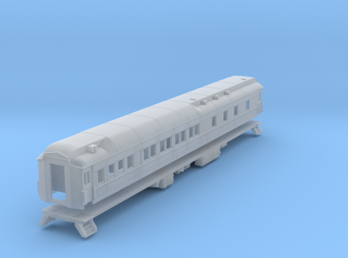 Pullman 8-1-2 sleeping car, plan 3979, Ice A/C (1/ 3d printed