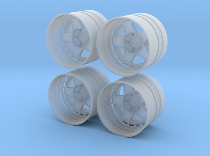 Turbomac 1/24 v4 pack 3d printed