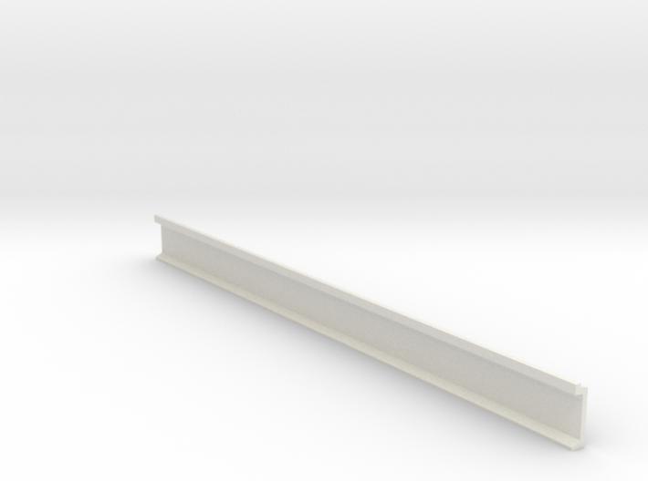 N Scale Platform Wall / perronwand 120mm 3d printed