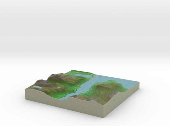 Terrafab generated model Fri Jan 09 2015 13:40:36 3d printed
