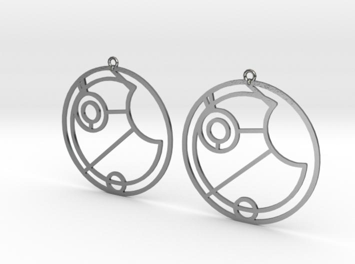 Esme - Earrings - Series 1 3d printed
