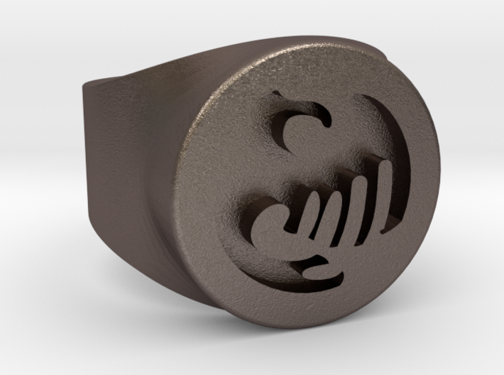 Anime Ring Request for male for men's 3d printed