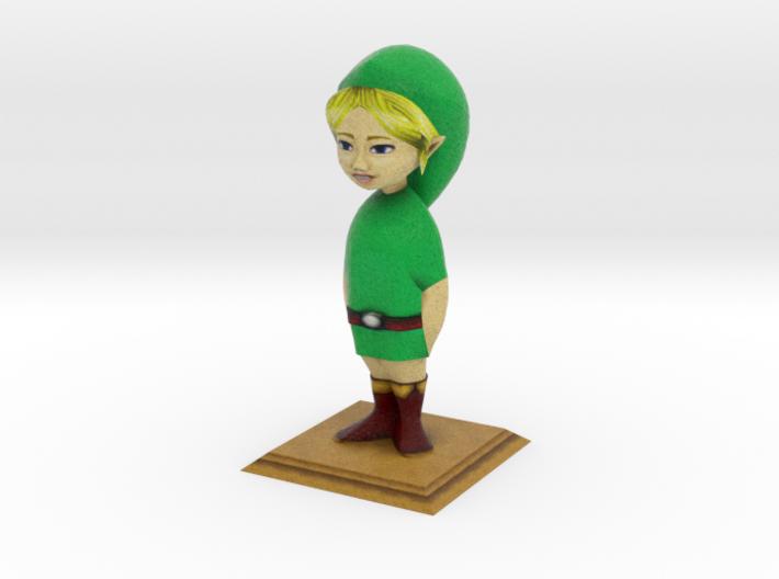 LARGE Link Statue from Zelda Majora's Mask 3d printed