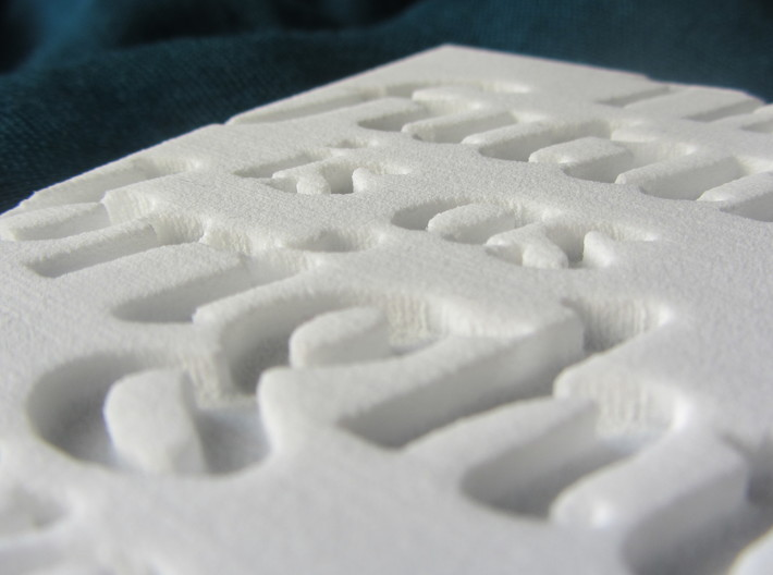 The future is as bright as your faith 3d printed