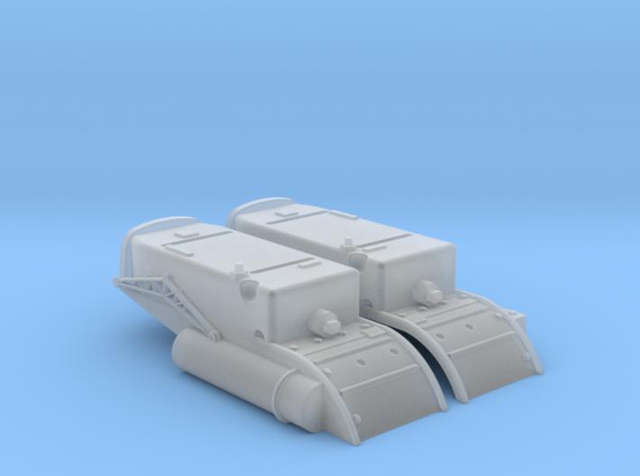 YT1300 HSBRO GREEBLE BOX 3d printed