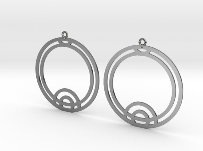 Thea - Earrings - Series 1 3d printed