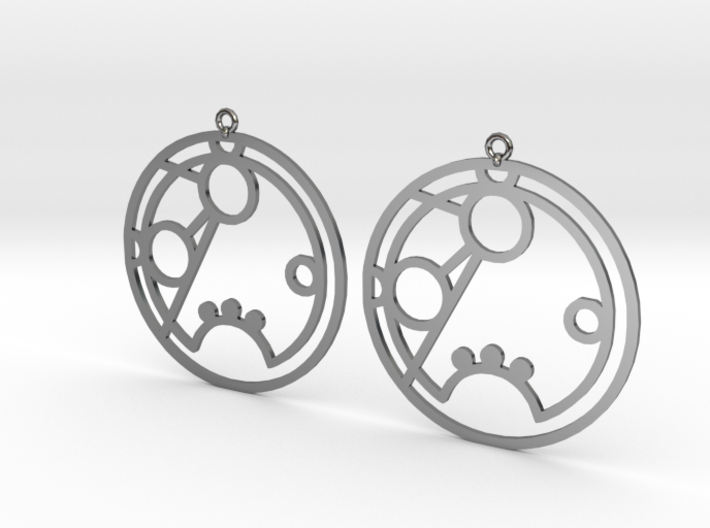 Romana - Earrings - Series 1 3d printed