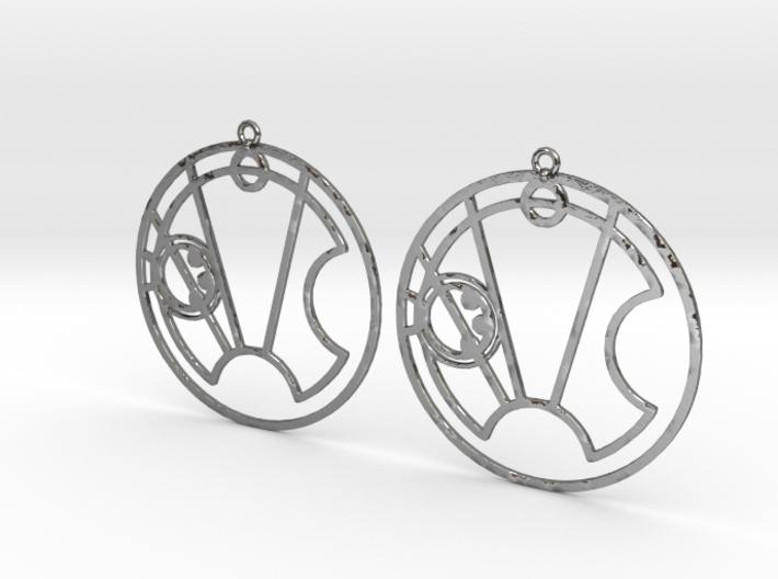 Stella - Earrings - Series 1 3d printed