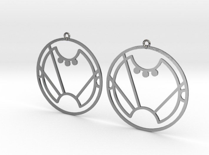 Sara - Earrings - Series 1 3d printed