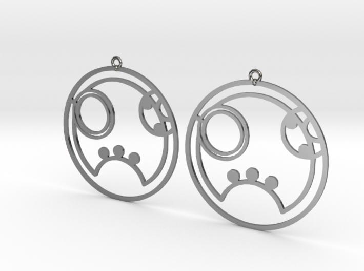 Ryann - Earrings - Series 1 3d printed